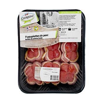 Paupiettes porc Clermont x9 1.125kg