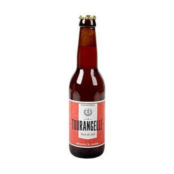 Bière artisanale La Tourangelle Bière de Noël - 4x33cl
