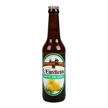 Bière artisanale Dent de lion L'Eurélienne 4.5% vol. - 33cl