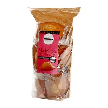 Madeleine pur beurre La Maison Percelay - 400g