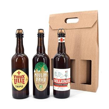 Bières de dégustation trio