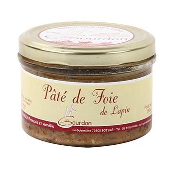 Pâté de foie de lapin EARL Gourdon Aurélie- 180g