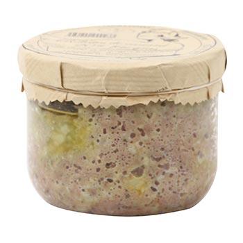 Rillettes canard 20% foie gras Gaillard SARL - 300g