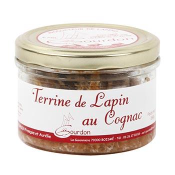 Terrine de lapin au Cognac EARL Gourdon Auélie- 180g