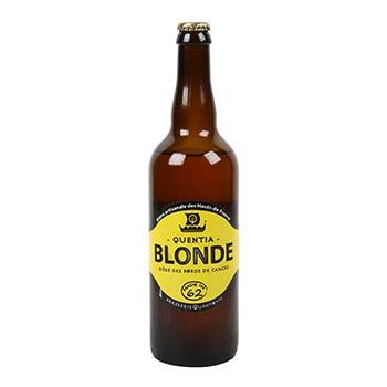 Bière Quentia blonde 75cl - 6,9%vol