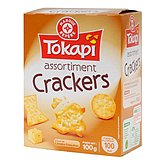 Assortiment crackers Tokapi
