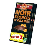 Chocolat Alter Eco noir orange