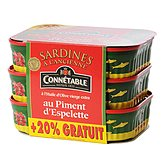Sardines Connétable 414g