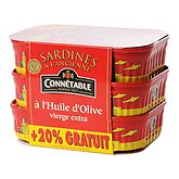Sardine Connétable 414g