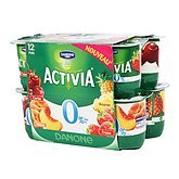 Activia Danone fruits mixtes